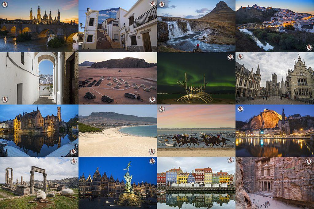 19 lugares visitado en 2019