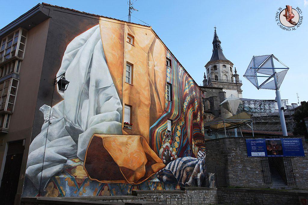 Al hilo del tiempo Murales Vitoria