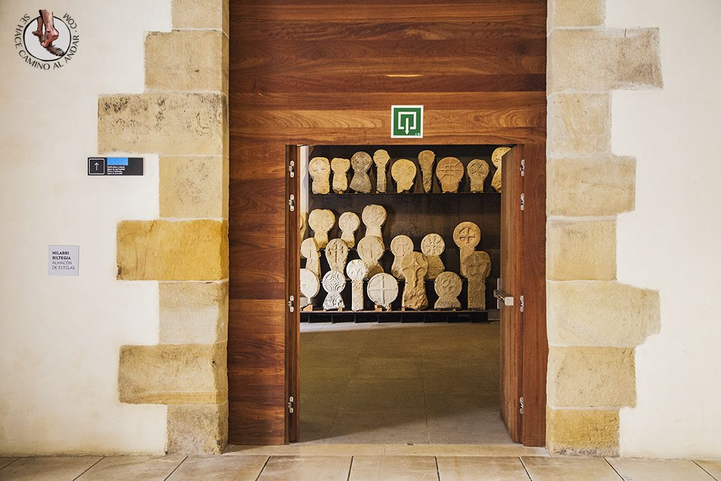 Almacén estelas Museo San Telmo