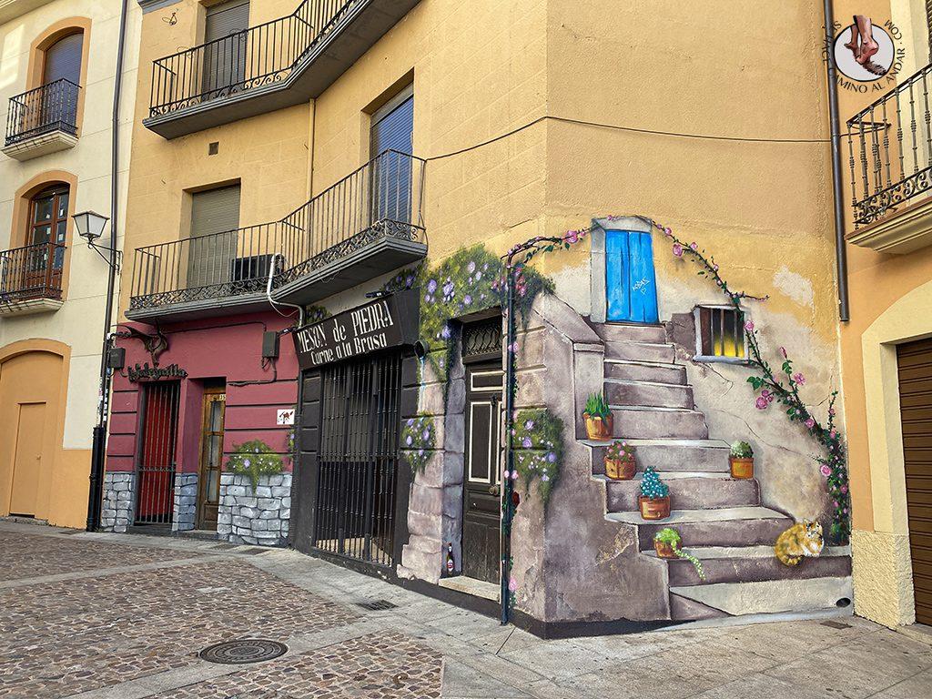 Arte urbano Zamora escalera Herreros