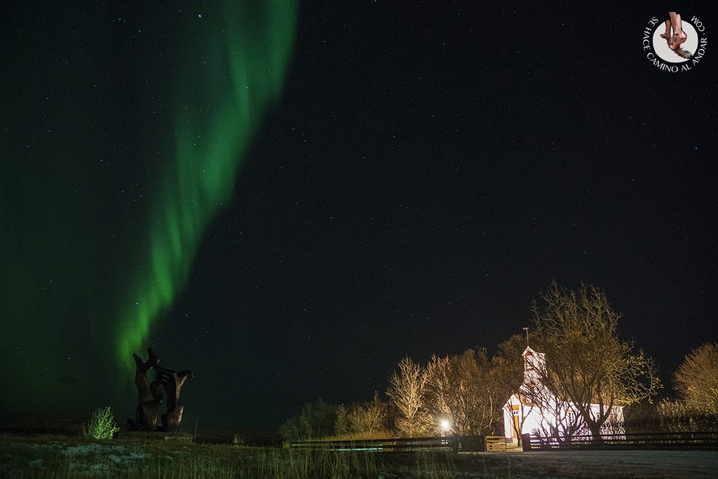 Aurora boreal arco