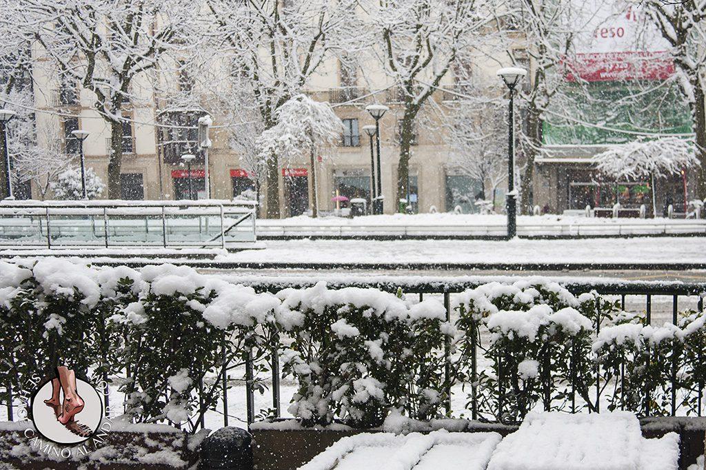 Avenida Boulevard nieve