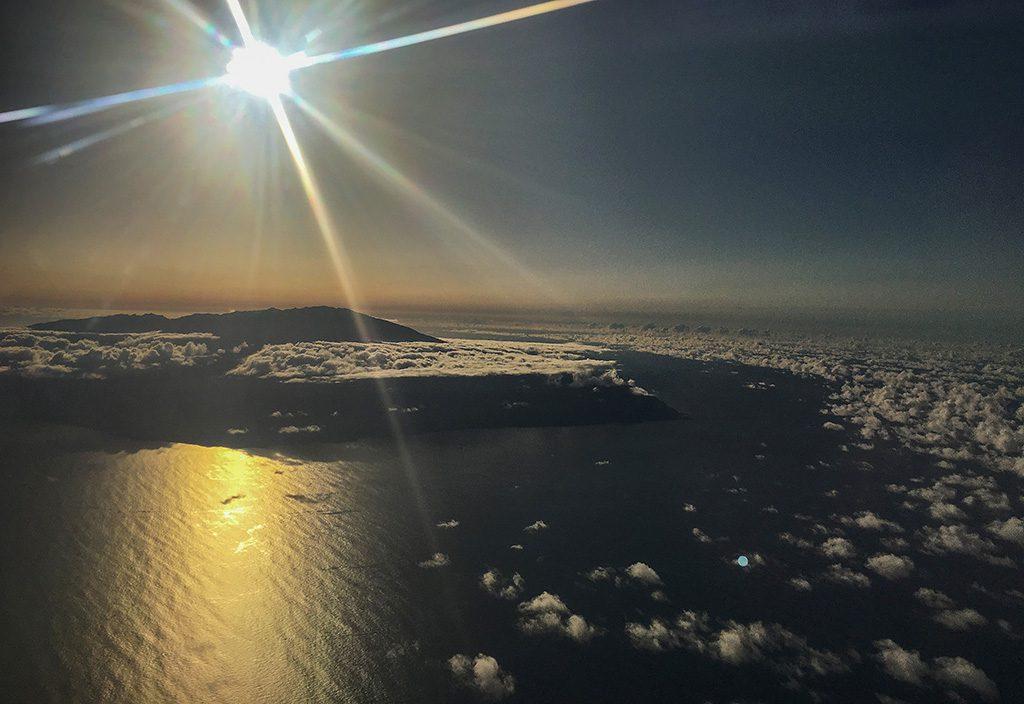 Avión a La Palma