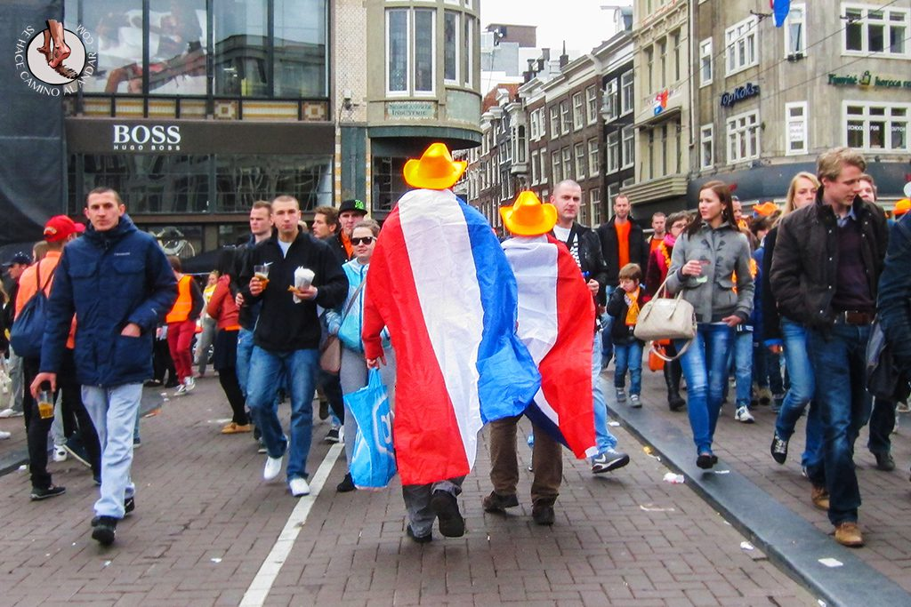 Banderas Holanda Queens Day