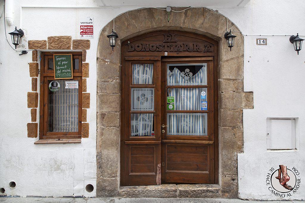 Bar el Donostiarra Sitges