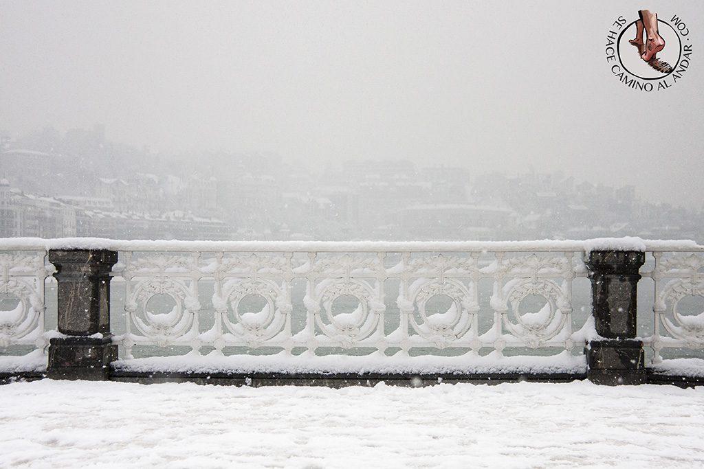 Barandilla La Concha nevada