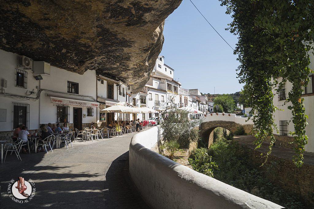 Bares Calle Cuevas del Sol Setenil