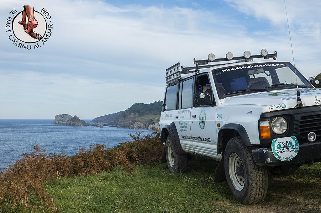 Bizkaia Costa Vasca Excursion 4x4 Jeep Ocioaventura