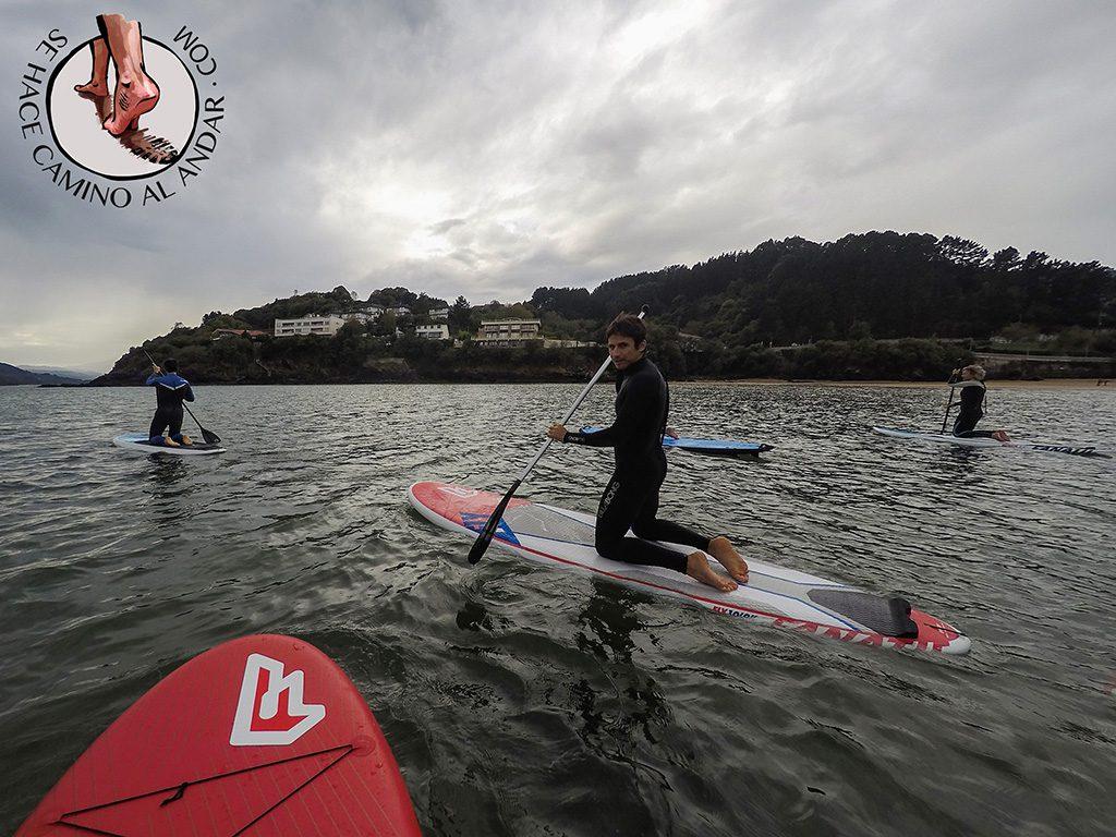 Bizkaia Costa Vasca Paddle Surf Mundaka