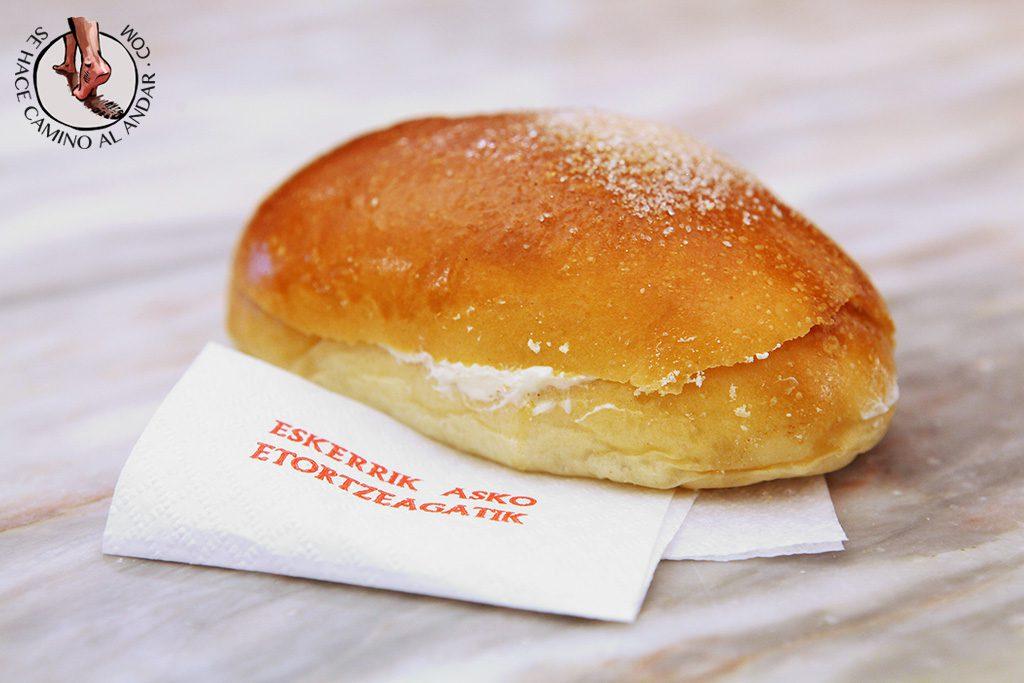 Bollo mantequilla Bilbao
