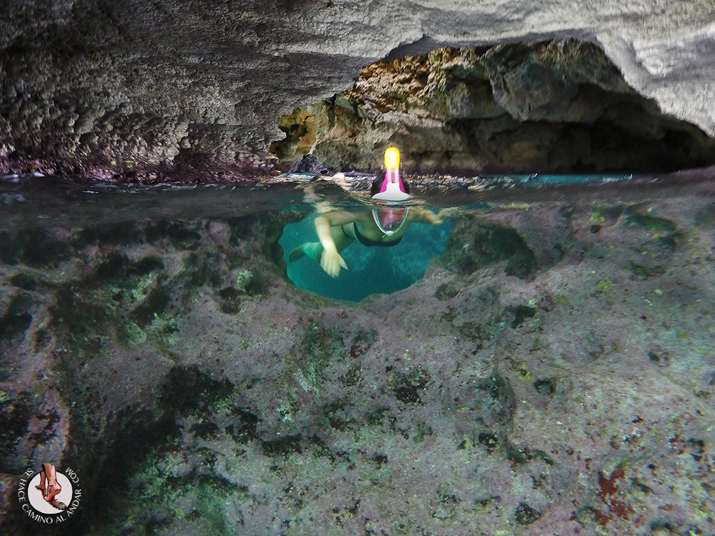 Buceo Cueva Cala Saona