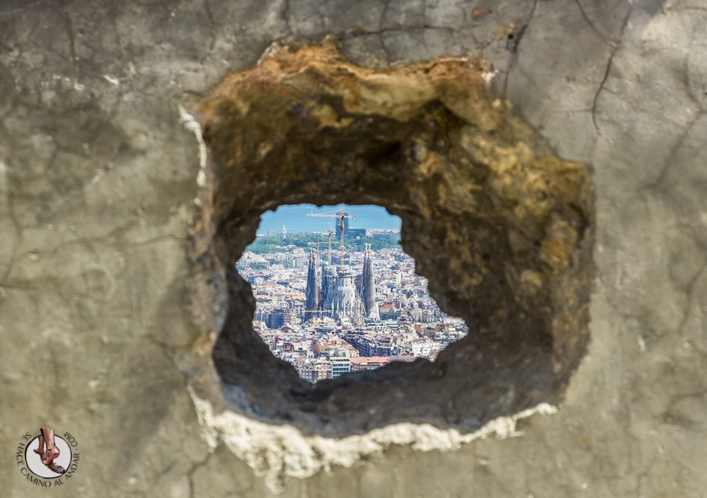 Bunkers del Carmel agujero sagrada familia