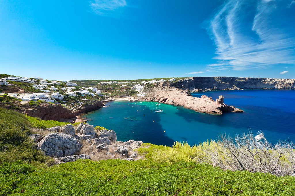 Cala Morell, Menorca.