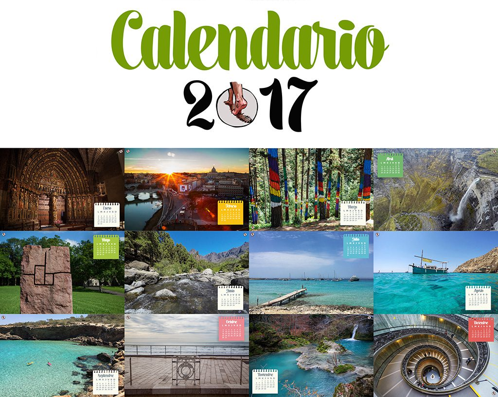 Calendario 2017 huevo pascua