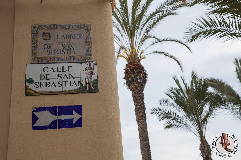 Calle de San Sebastian Sitges
