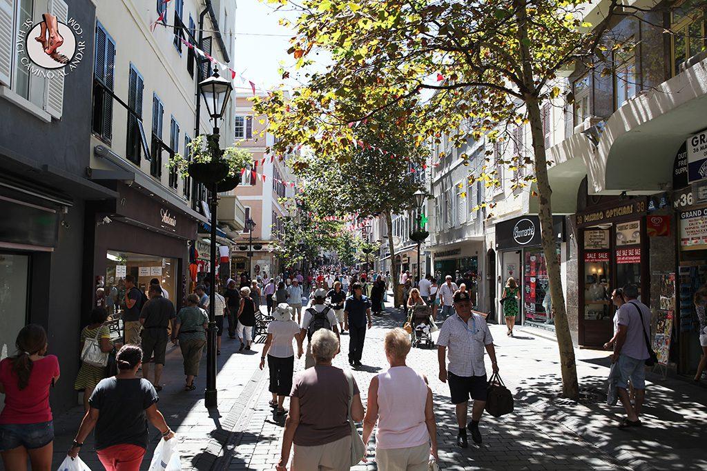 Calle principal Gibraltar