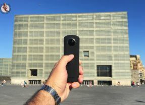 Ricoh Theta S, mi nueva cámara 360 grados