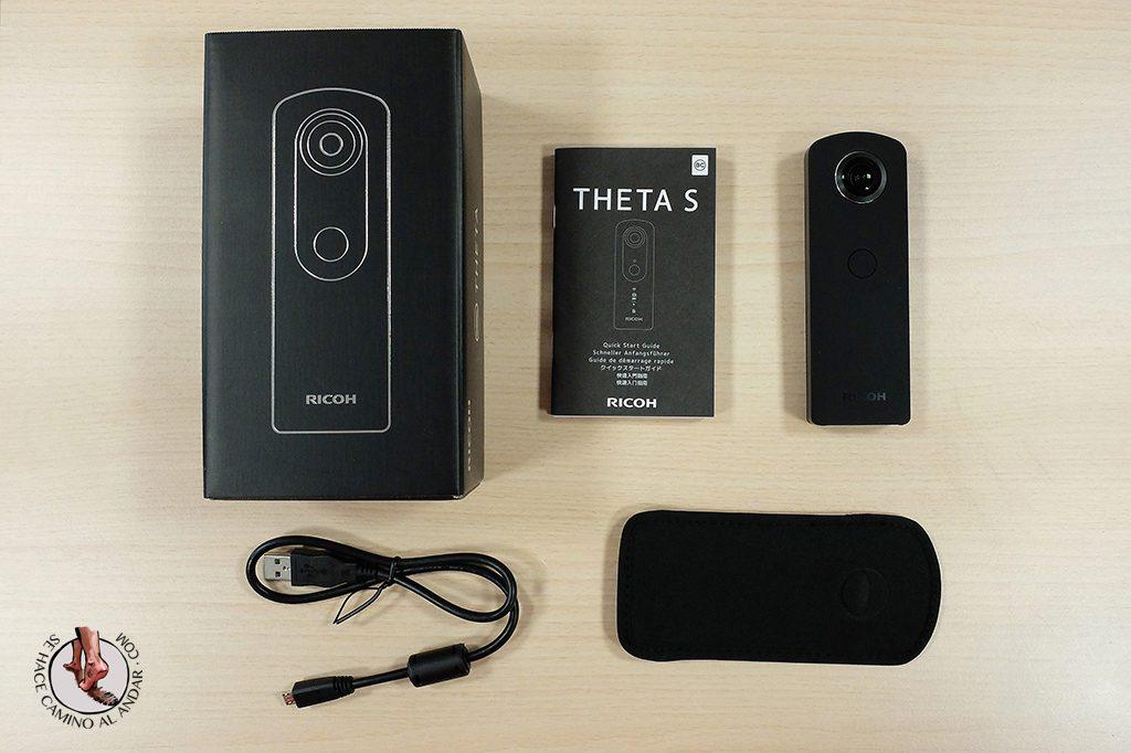 Camara 360 Ricoh Theta S unboxing