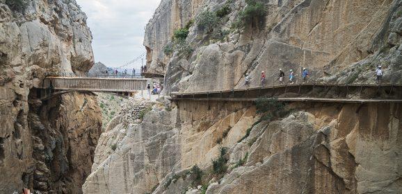 El Caminito del Rey, un paseo de vértigo por el desfiladero de Gaitanes