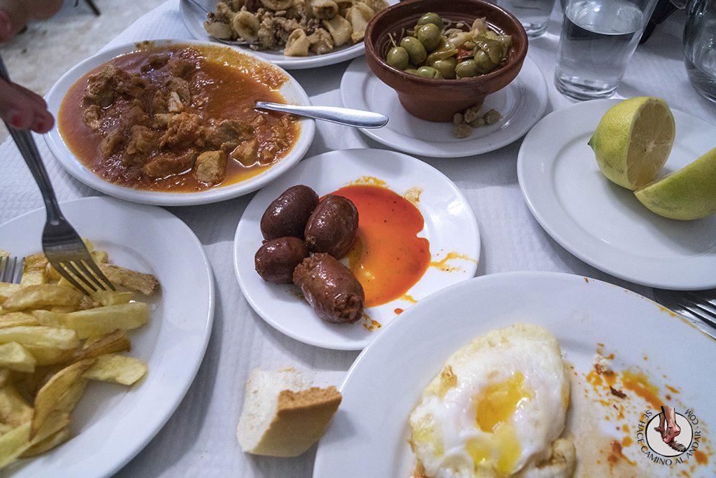 Casa Pepa Carratraca comida
