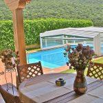 Casa Rural Erbioz, con piscina descapotable en Navarra