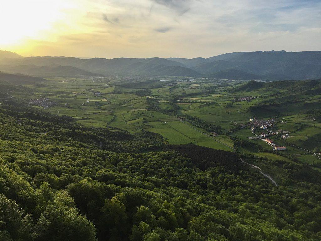Casa Rural Erbioz vistas entorno