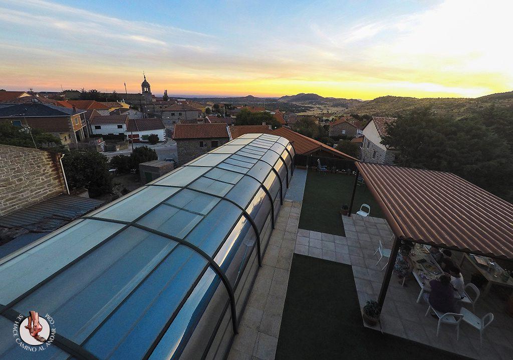 Casa Rural Jardín aérea