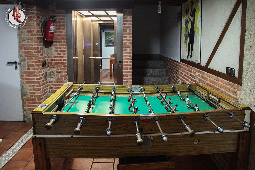Casa Rural La Chirumba futbolin
