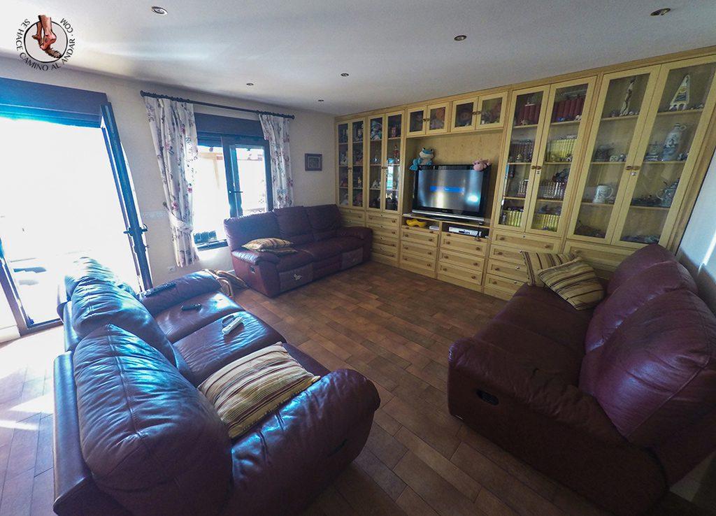 Casa Rural Zarzal Sala Sofa