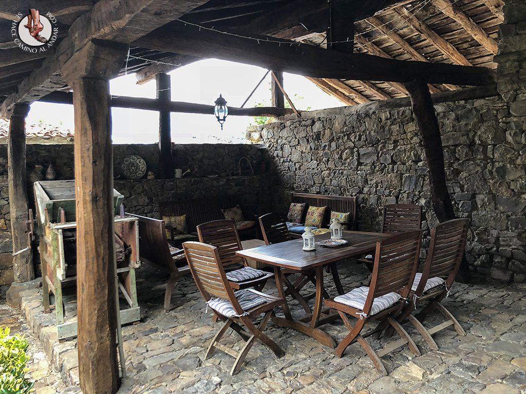 Casa Rural las Chimeneas mesas reuniones