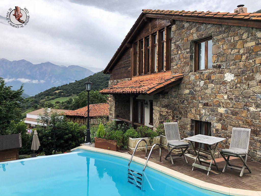 Casa Rural las Chimeneas piscina