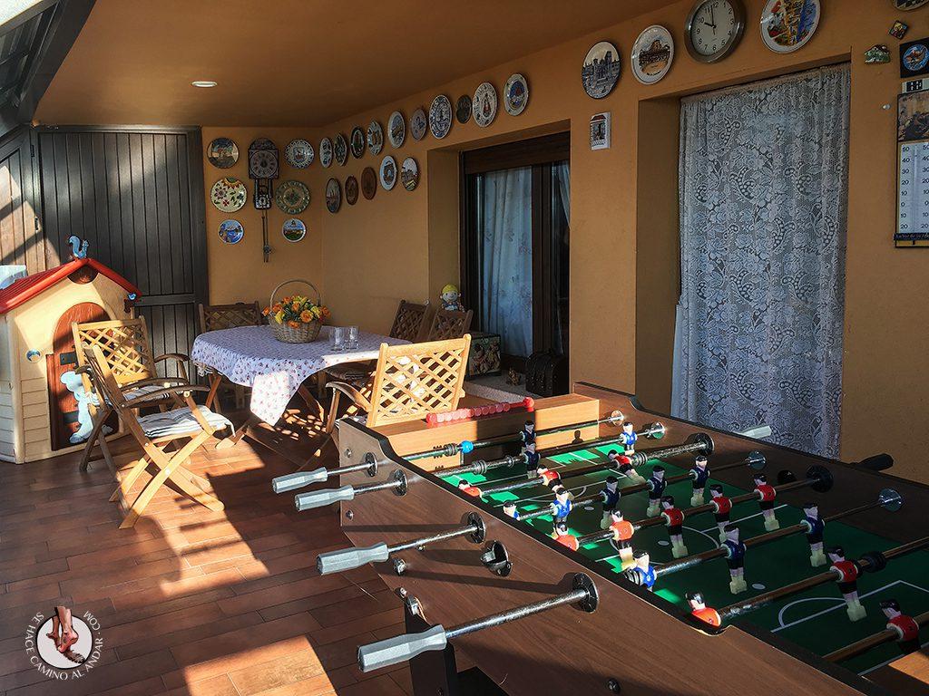 Casa Rural porche futbolin