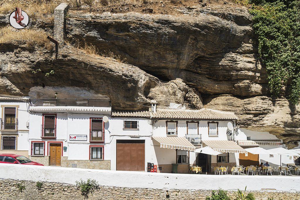 Casas Calle Cuevas del Sol Setenil