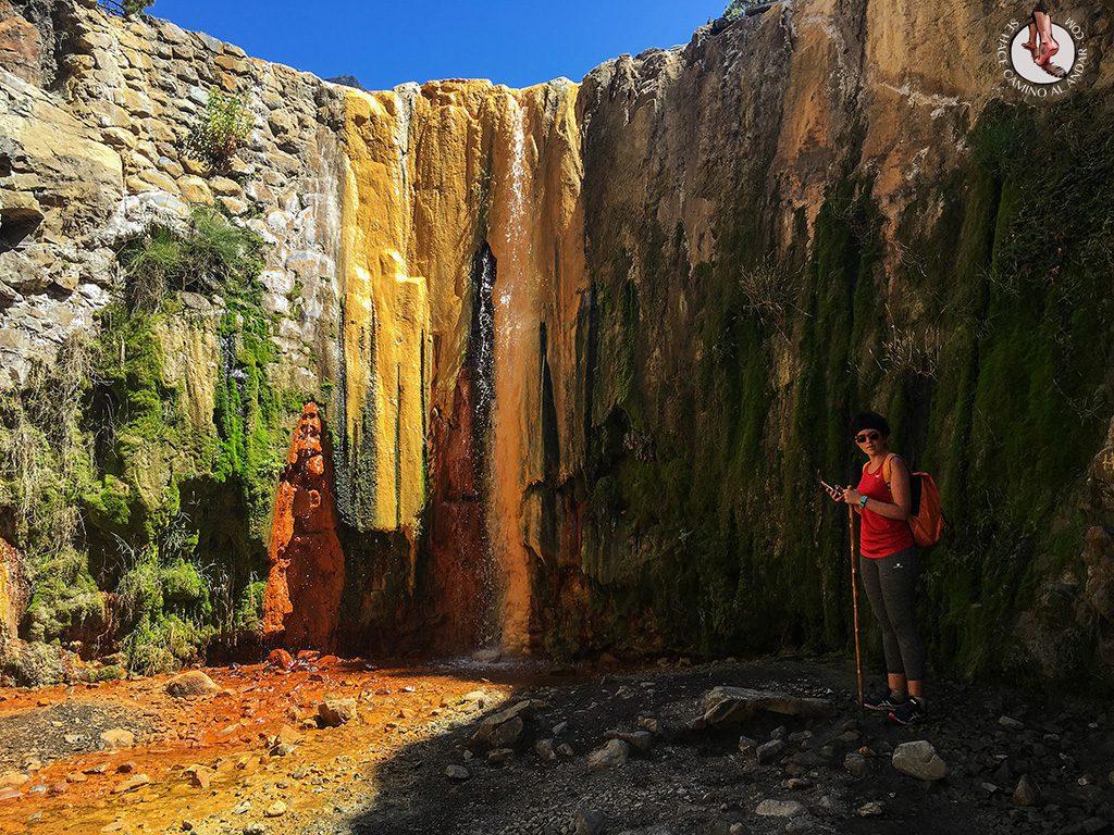 Cascada de los colores La Palma