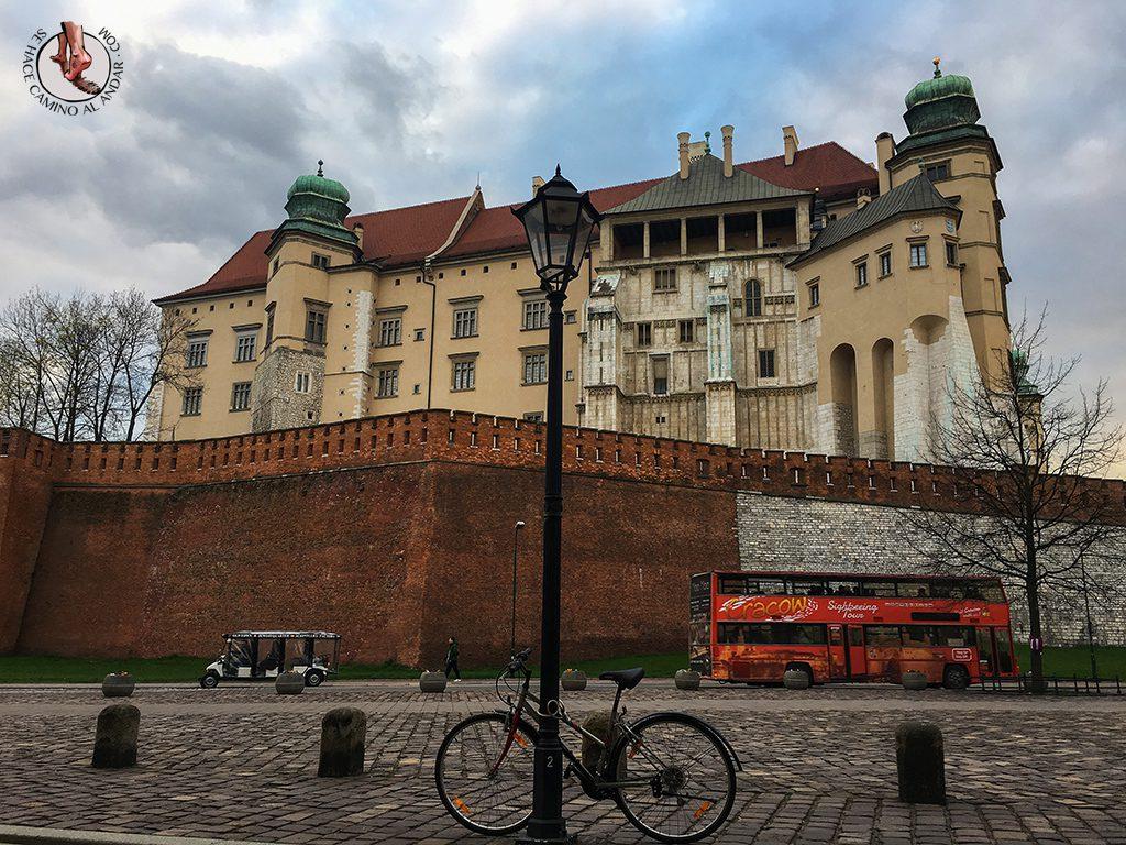Castillo Wawel Cracovia
