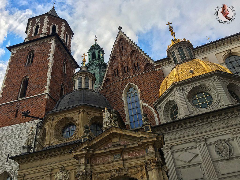 Catedral Wawel cúpula oro