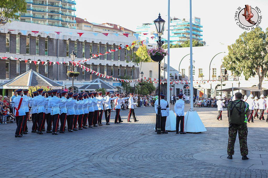 Ceremonia entrega llaves Gibraltar