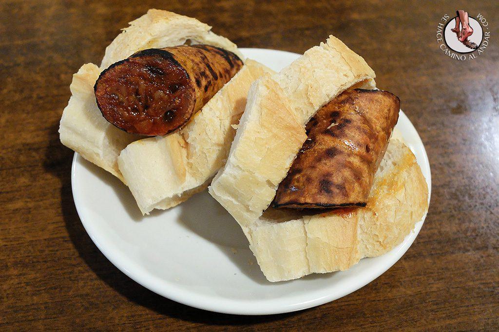 Chorizo al infierno Bacaicoa Bilbao