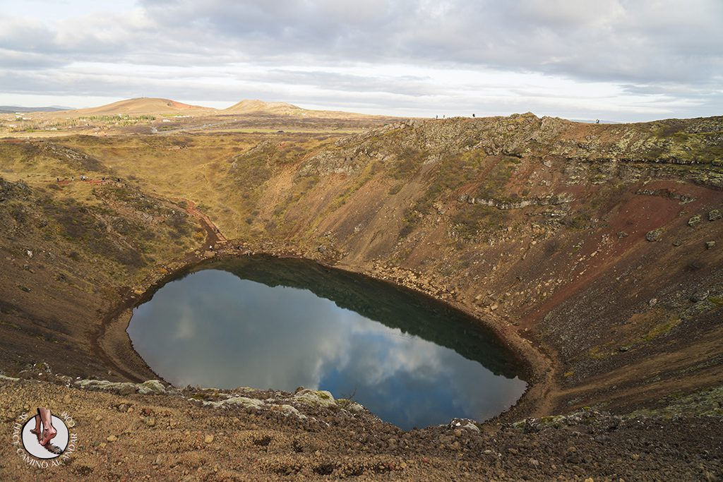 Golden Circle Crater Kerid colores