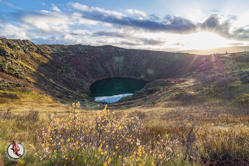 Circulo dorado Crater Kerid