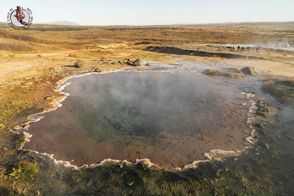Circulo dorado Geysir lago