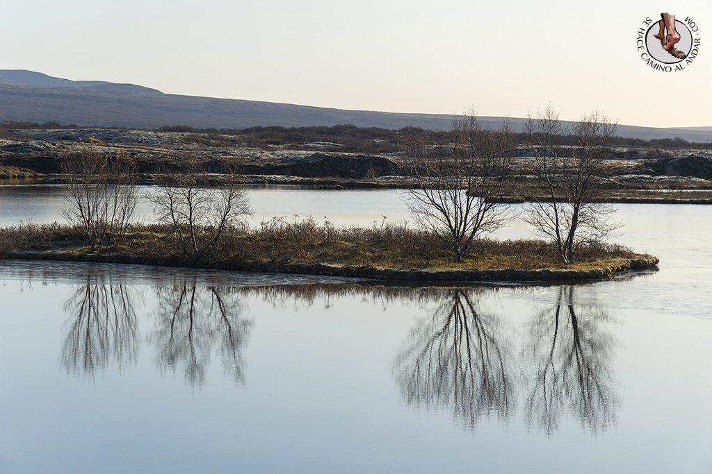 Circulo dorado Thingvellir lago