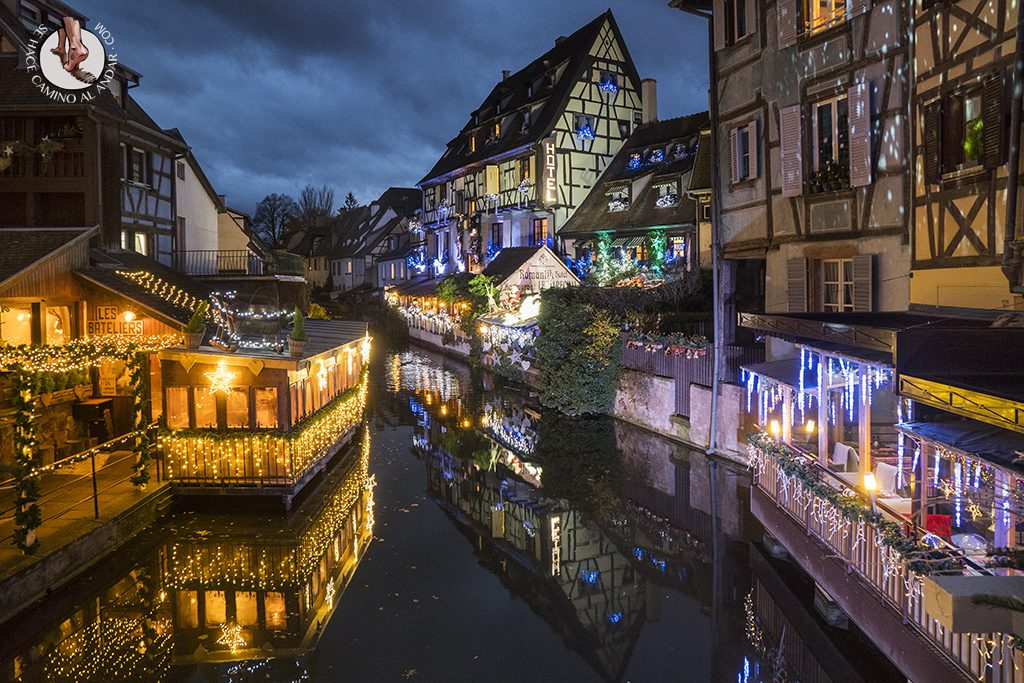 Colmar campamento base recorrer Alsacia en Navidad