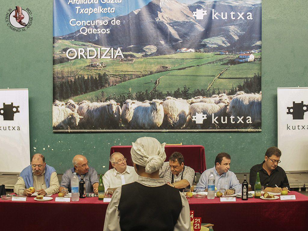 Concurso subasta queso Idiazabal Feria de Ordizia