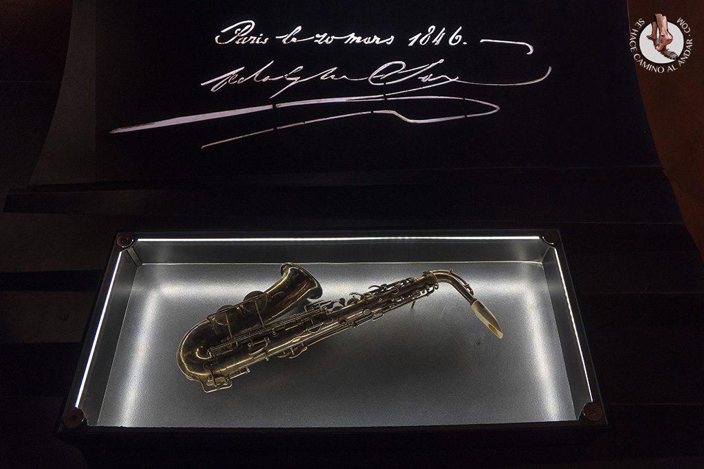 Dinant Adolphe Sax saxofon