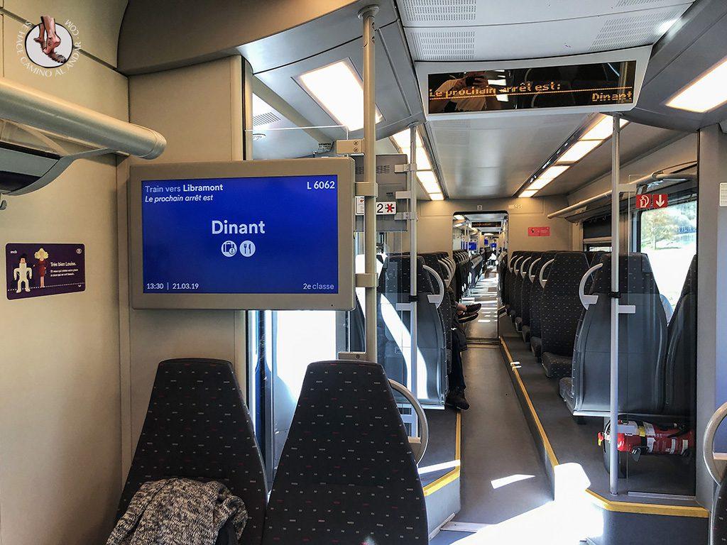 Dinant tren desde Bruselas
