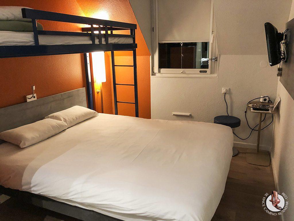 Dónde dormir en Colmar Ibis Budget Colmar Centre habitacion