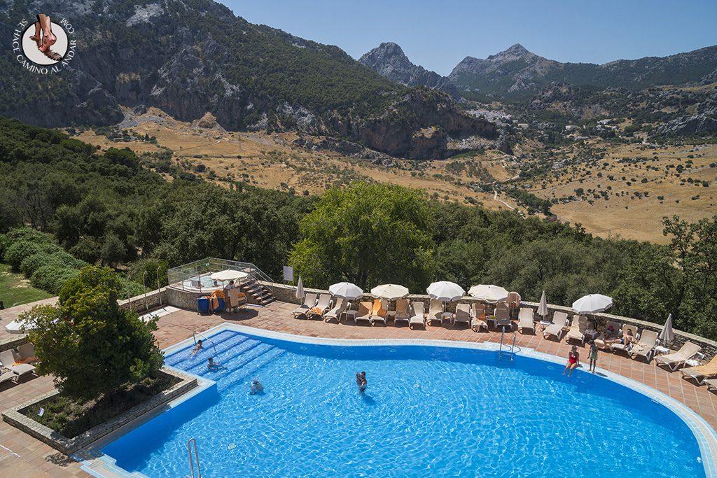 Dormir Sierra Grazalema Fuerte piscina vistas