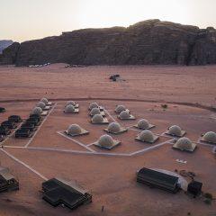 Dormir en el desierto de Jordania: una haima VIP en Wadi Rum