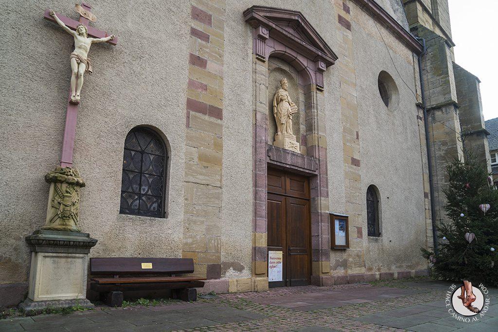 Eguisheim Iglesia deSaint Pierre y Saint Paul